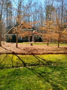 Mulch for Triangle home