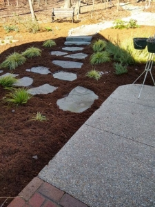 Mulch helps protect your landscape