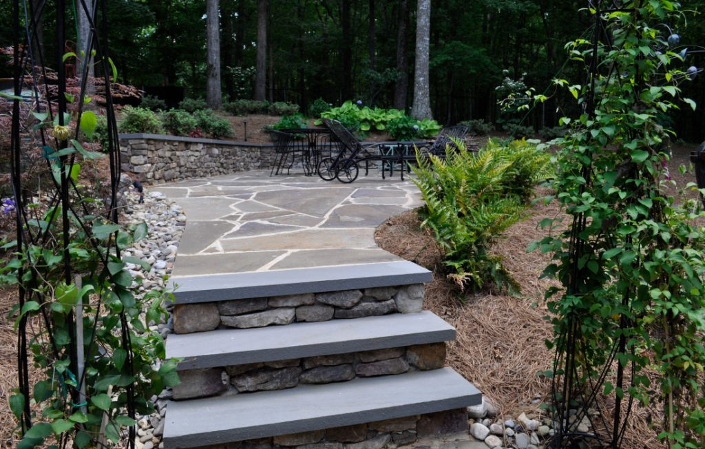 Hardscape design and installation ideas for your yard in Raleigh Durham NC.